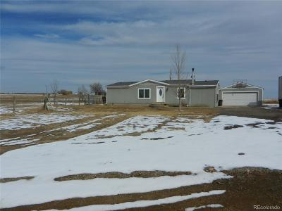 Keenesburg Single Family Home Under Contract: 3490 County Road 61