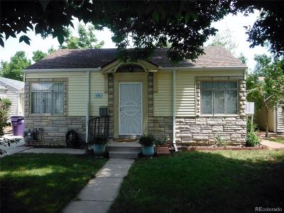 Denver Single Family Home Active: 430 Newton Street