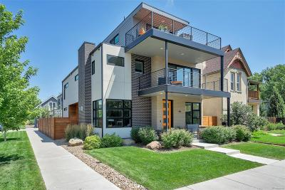 Denver Single Family Home Under Contract: 1861 West 34th Avenue