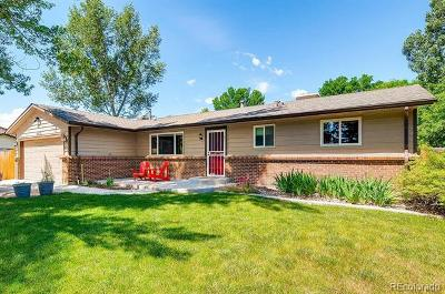 Littleton Single Family Home Active: 6435 South Jay Way
