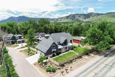 Boulder Single Family Home Active: 1604 Violet Avenue
