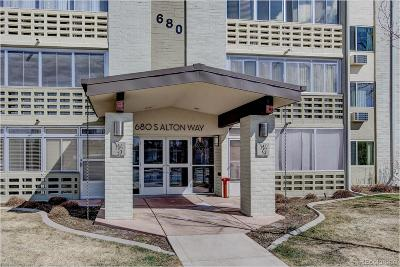 Denver Condo/Townhouse Active: 680 South Alton Way #11C