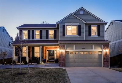 Highlands Ranch Single Family Home Under Contract: 9791 Townsville Circle