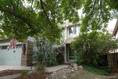 Littleton Single Family Home Active: 7635 Dusk Street