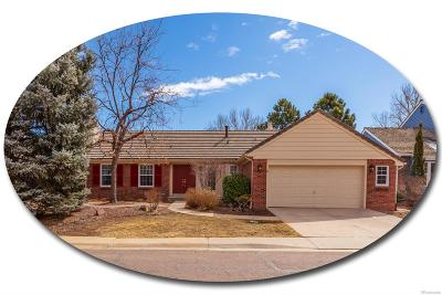 Centennial Single Family Home Under Contract: 7598 South Jasmine Way