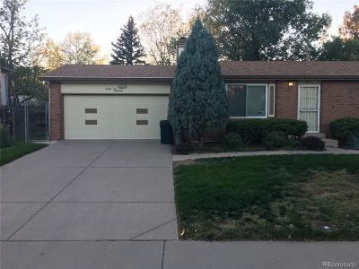 Aurora Single Family Home Active: 2517 South Dillon Street
