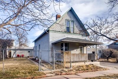 Denver Single Family Home Under Contract: 4223 West 35th Avenue