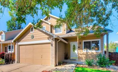 Westminster Single Family Home Under Contract: 13375 Shoshone Street