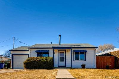 Denver Single Family Home Under Contract: 75 South Canosa Way