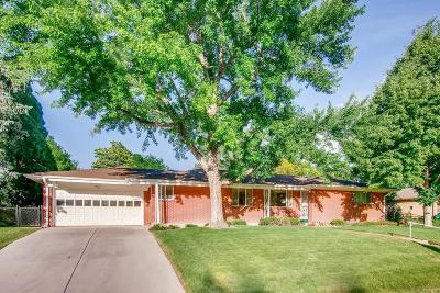 Denver Single Family Home Active: 2460 South Holly Place