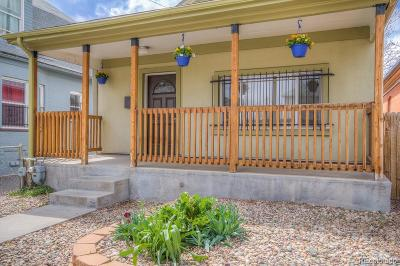 Denver Single Family Home Active: 1025 Lipan Street