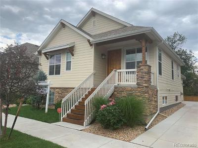 Wheat Ridge Single Family Home Active: 3320 Yukon Court