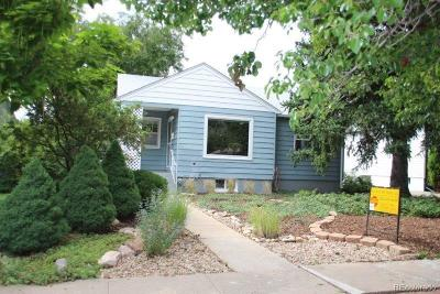 Edgewater Single Family Home Under Contract: 2155 Gray Street