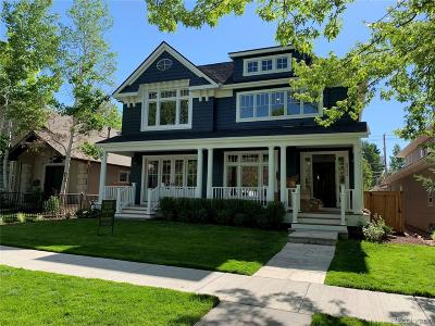 Denver Single Family Home Active: 2358 South Columbine Street