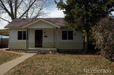 Denver Single Family Home Active: 2571 South Cherokee Street