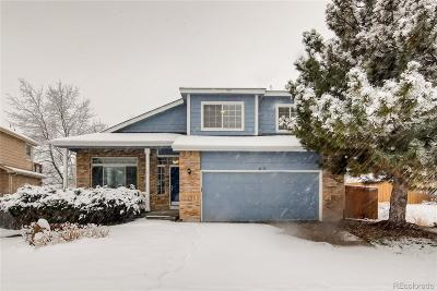 Highlands Ranch Single Family Home Under Contract: 6838 Chestnut Hill Street