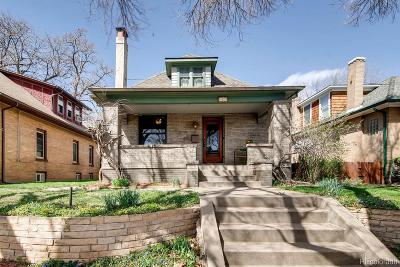 Denver Single Family Home Active: 4139 Tejon Street