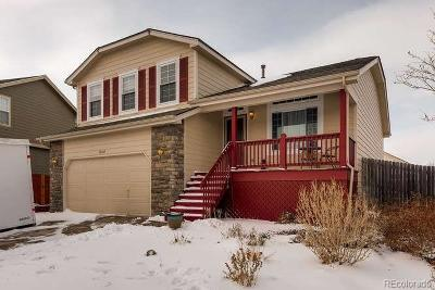 Commerce City Single Family Home Under Contract: 10547 Vaughn Street