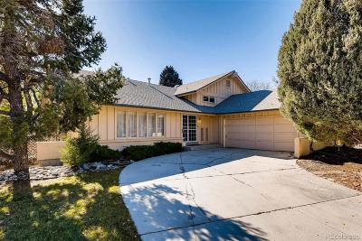Centennial Single Family Home Active: 6580 South Heritage Pl W