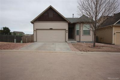 Peyton Single Family Home Under Contract: 7689 Bierstadt Heights