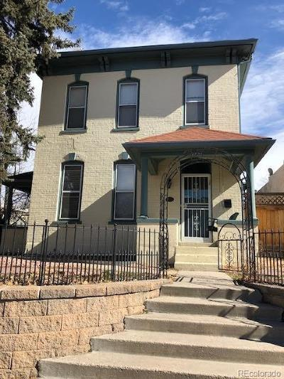 Single Family Home Under Contract: 2098 Clarkson Street #1