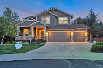 Castle Rock Single Family Home Under Contract: 6640 Fire Opal Lane