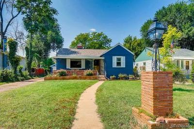 Wheat Ridge Single Family Home Under Contract: 3615 Ames Street