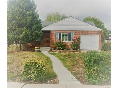 Denver Single Family Home Active: 923 Glencoe Street