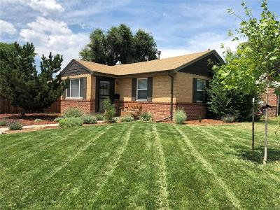 Denver CO Single Family Home Active: $487,000