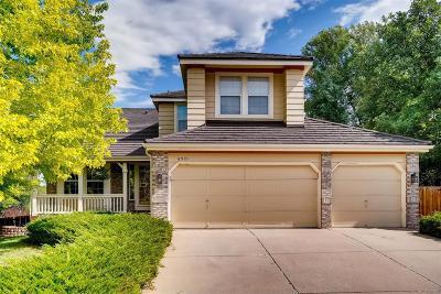 Littleton Single Family Home Active: 6921 West Friend Place