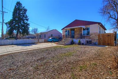 Denver Single Family Home Under Contract: 815 South Patton Court