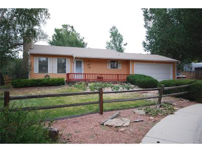 Castle Rock Single Family Home Under Contract: 803 Cinnamon Court