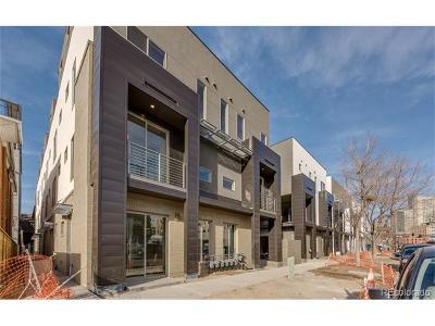 Denver Condo/Townhouse Active: 1323 Elati Street #6