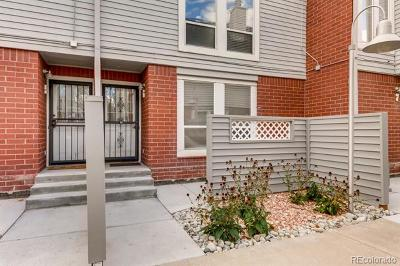 Denver Condo/Townhouse Active: 1035 Jasmine Street #6