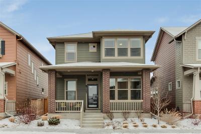 Denver Single Family Home Active: 5483 Verbena Street