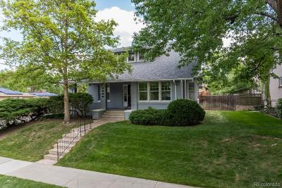 Denver Single Family Home Active: 1300 South Gaylord Street