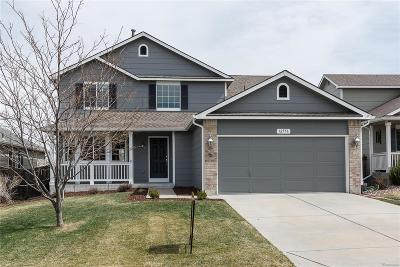 Parker Single Family Home Under Contract: 12556 South Sopris Creek Drive