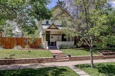 Denver Single Family Home Active: 775 South Grant Street