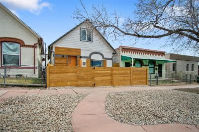 Denver Single Family Home Active: 714 Mariposa Street