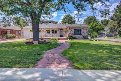 Wheat Ridge Single Family Home Under Contract: 3295 Fenton Street