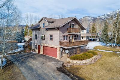 Steamboat Springs Single Family Home Active: 1550 Red Hawk Court