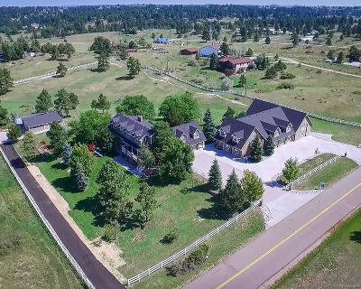 Parker Single Family Home Under Contract: 8459 Homestead Road