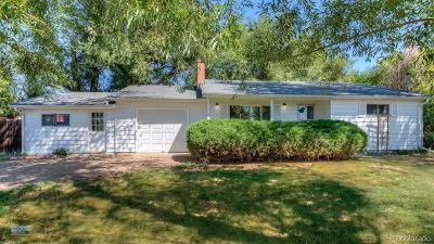 Wheat Ridge Single Family Home Active: 11005 Ridge Road