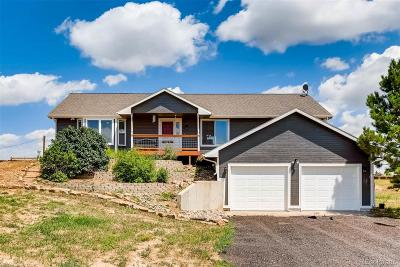 Parker CO Single Family Home Under Contract: $550,000