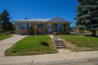 Northglenn Single Family Home Under Contract: 11301 High Street