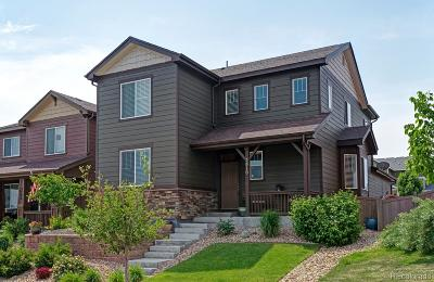 Castle Rock Single Family Home Active: 3810 Cadence Drive