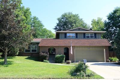 Littleton Single Family Home Active: 6425 West Leawood Drive