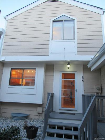 Arvada Condo/Townhouse Under Contract: 6725 West 84th Way #68