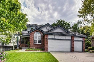 Littleton Single Family Home Under Contract: 8876 West Dorado Court