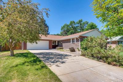 Denver Single Family Home Active: 3189 South Monaco Circle
